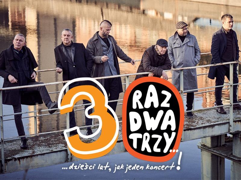 Plakat Raz Dwa Trzy