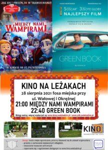 kino plenerowe 28 sierpnia - plakat promocyjny
